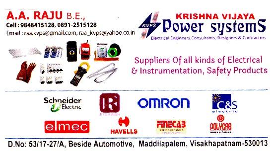 Krishna Vijaya power systems